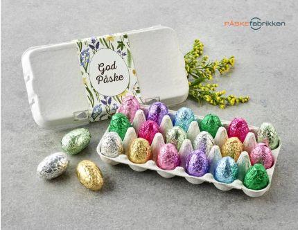 Æggebakker med indpakket luksusæg