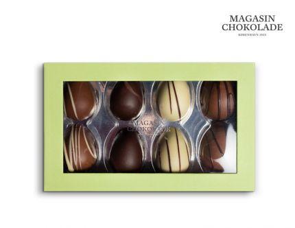 Magasin Chokolade, 8 store påskeæg