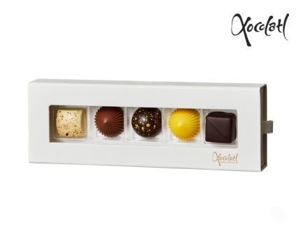 Limited med 5 fyldte chokolader